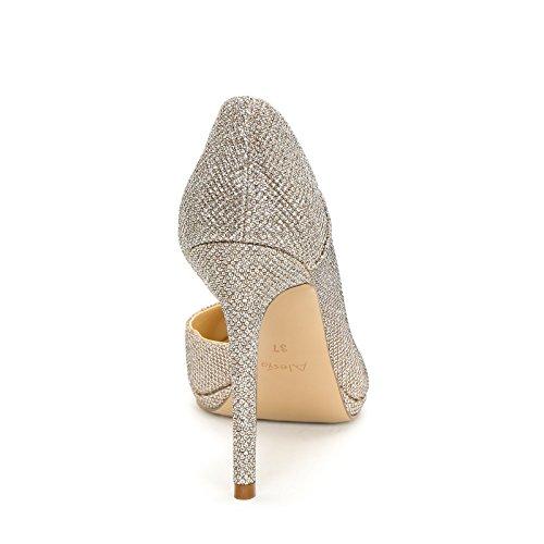 Alesya Chaussures & Chaussures - Decolletè Femme Bronze