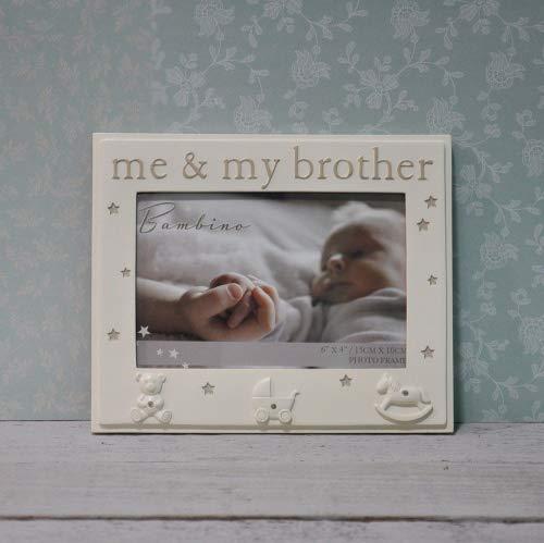 Bambino Me y mi hermano 6x 4marco de fotos