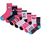 Best Girls Socks - Girls FCO 7 Pack Novelty Design Socks Review