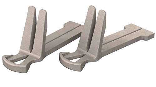 Bon 11-453 Lot de 2 attaches en aluminium pour coin
