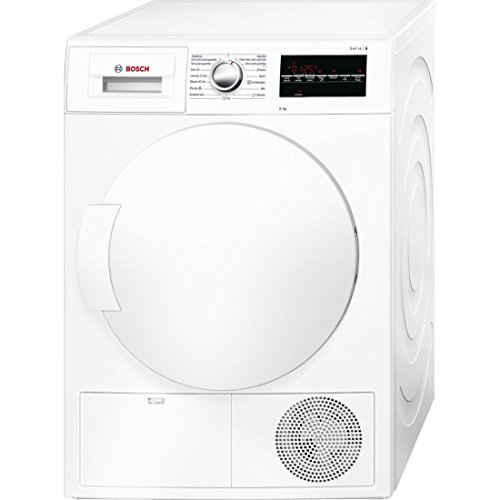Bosch série 6 wtg84260ee indépendant chargement frontal 8 kg b blanc – Sèche Linge (autonome, chargement frontal, condensation, couleur blanc, pivotant, toucher, droit)