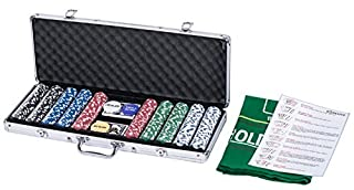 eSecure Professional Poker Set | 500 Piece | Comes with Dice, Dealer, Blind Buttons and 2 Card Decks | Aluminium Carry Case - Portable and Durable (B004Q4HNBA) | Amazon price tracker / tracking, Amazon price history charts, Amazon price watches, Amazon price drop alerts