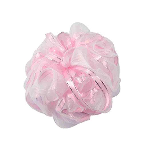 Ensemble de 2 boule pour le bain / boule de bain lush / serviette de bain, Rose