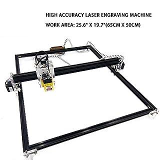 AHMI CNC Laser cutter laser graviermaschine lasergravur maschine laserdrucker 60 x 50cm Persönliche DIY Desktop Maschine 15000mW