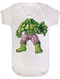 Hulk cuerpo chaleco de bebé Babygrow Babywear uno piezas), Hero Comics superhéroe Novelty Babywear