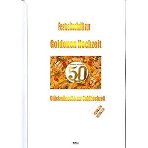 Lesen Festzeitschrift Zur Goldenen Hochzeit Glückwünsche