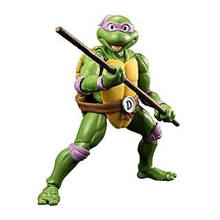 Bandai Tamashii Nations BTN06451-0 - Teenage Mutant Ninja Turtles S.H. Figuarts Donatello Tamashii Web Exclusive Actionfigur, 15 cm
