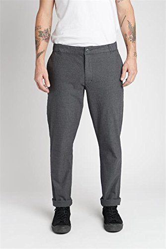 Rvca Black Jeans (All Time Arc Jeans pirate black Größe: 34 Farbe: pirate-bla)