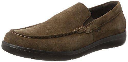 Geox U Leitan C, Mocassins (Loafers) Homme, Noir