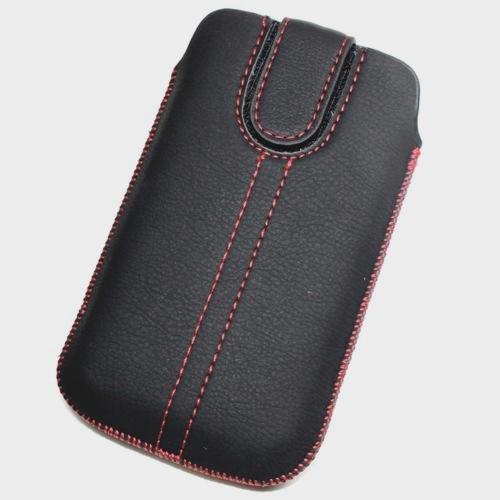 Schutzhülle, Weise Leder XL für Samsung Galaxy S3Mini