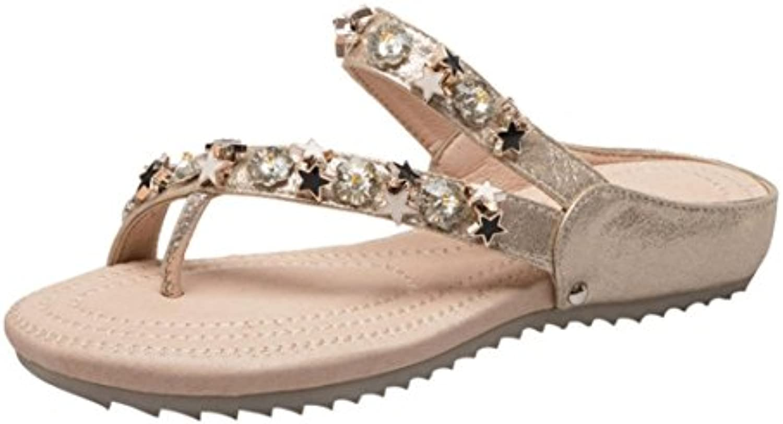 71c473428e09 Amlaiworld Women Sandals Fashion Women Rhinestone Flat Heel Anti Skidding  Skidding Skidding Beach Shoes Sandals Slipper B07D296CCC Parent 934c46