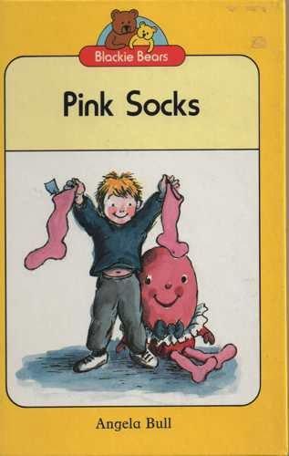 Pink socks.
