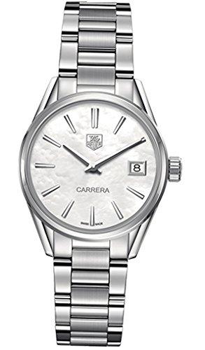 Tag Heuer Carrera Women's 32mm Silver Steel Bracelet & Case Watch WAR1311.BA0778