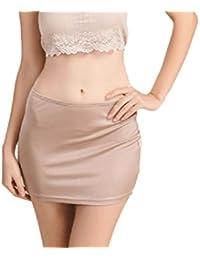44278c36f276 Röcke Damen Sommer Slim Fit Einfarbig Uni-Farben Minirock Mode Casual Kurz  Strandrock Party Stil