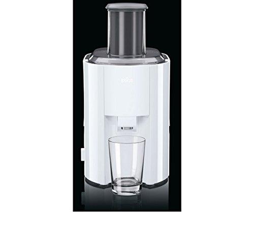 Braun J300 1.25 Litre Juicer – White