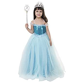 Samsara Souture Baby Princess Frozen Dresses Girls Birthday Party