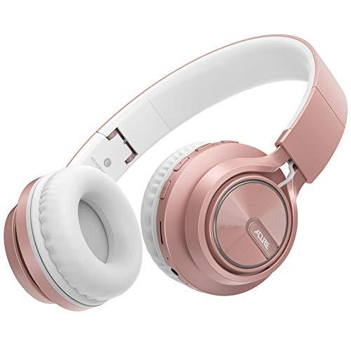 ACURE AC01 Cuffie Bluetooth senza fili Cuffie auricolari pieghevoli con microfono HD / Scheda TF / Modalità cablata rimovibile...