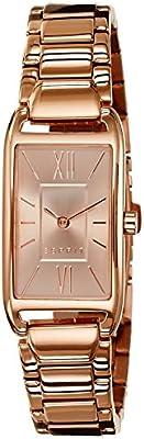 Esprit  ES107112003 - Reloj de cuarzo para mujer, con correa de acero inoxidable, color dorado