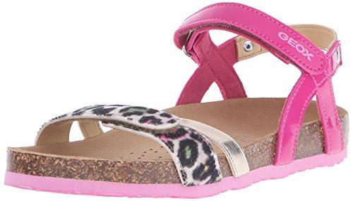Geox Mädchen J New Aloha G Sandalen, Pink (C8002), 36 EU