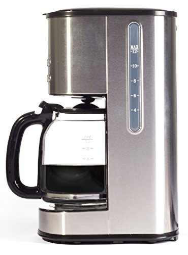 414lO%2BcImHL - Igenix IG8250 Digital Filter Coffee Maker, 12 Cup Carafe, Automatic 24 Hour Timer and Keep Warm Function, Removable…