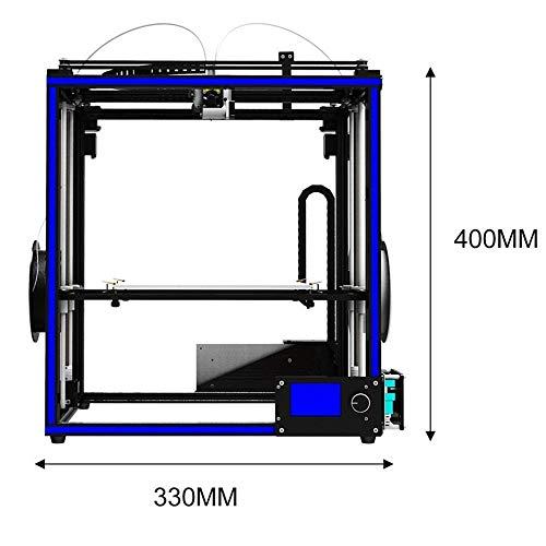 New Tronxy 3D Printer X5S-2E farbern Double Feeding port 3d drucker with hotbed - 4