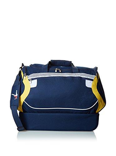 Legea Unisex-Erwachsene Capri, Blu-Celeste, 30X50X46 CM Blau / Gelb
