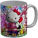 FunkyTradition Hello Kitty Cartoon Ceramic Coffee Mug For Friends Forever For Kids/Birthday Gift/Return Gift/Gifts/Coffee Mug/Ceramic Mug