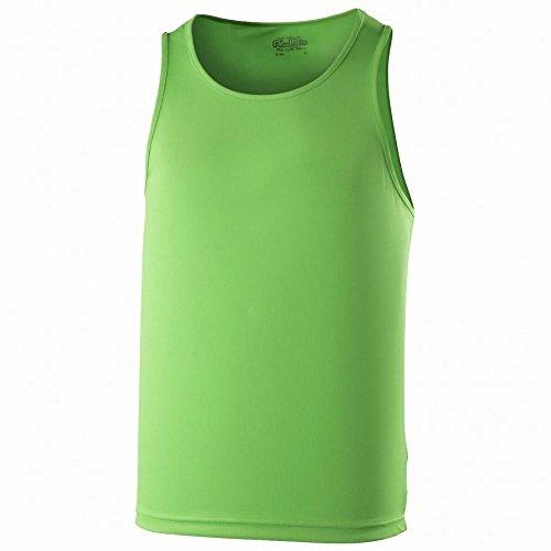 Just Cool - Canotta Tinta Unita - Uomo Verde lime