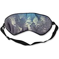 Sleep Eye Mask Map World Lightweight Soft Blindfold Adjustable Head Strap Eyeshade Travel Eyepatch E18 preisvergleich bei billige-tabletten.eu