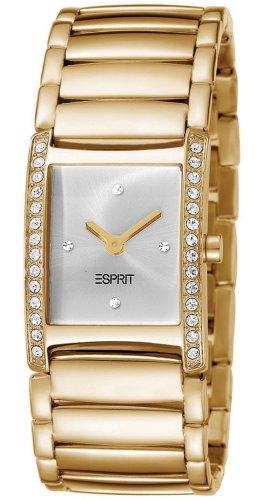 Esprit ES103712001 - Reloj analógico para mujer de acero inoxidable plata