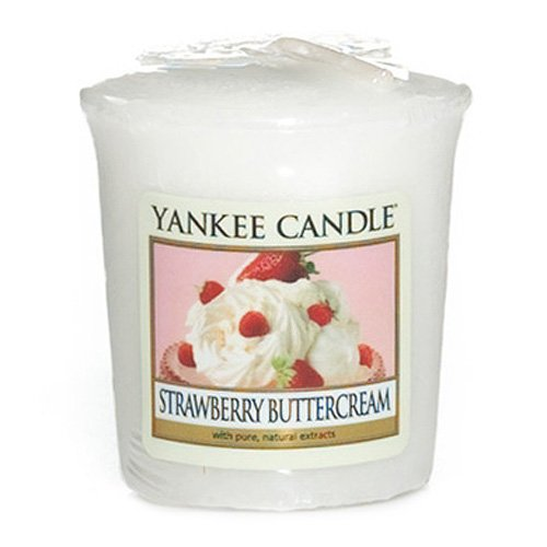 Yankee Candle Votivkerze STRAWBERRY BUTTERCREAM