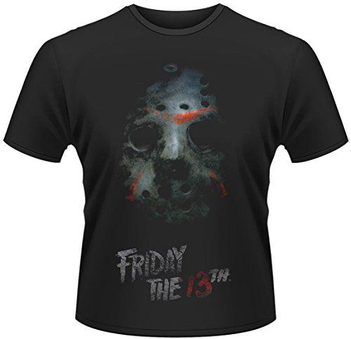 Freitag der 13. T-Shirt Maske Größe XL friday the 13th mask