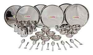 HAZEL Stainless Steel Dinner Set 36 Pcs