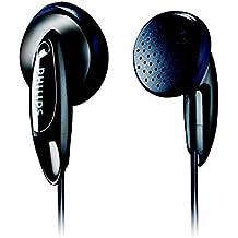 (Certified Refurbished) Philips SHE1350 in-Ear Headphones (Black)