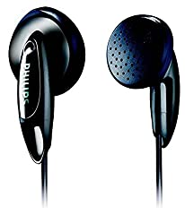 (Certified Refurbished) Philips SHE1350 in-Ear Headphones (Black)