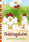 Geschenkidee  - Frühlingsboten: Farbenfrohe Fensterbilder