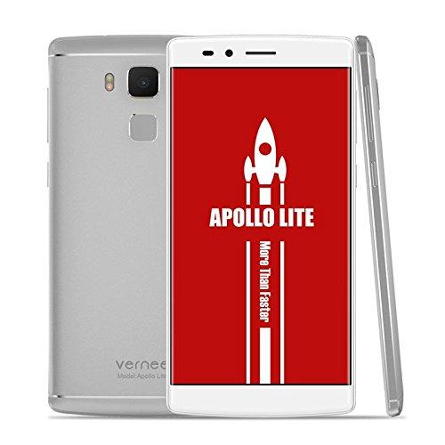 Vernee VNSPHAPOLLTK Apollo Lite -Smartphone con Pantalla de 5.5'(Mediatek MT6797 Helio X20, GPU Mali T880 MP4, 4GB RAM...