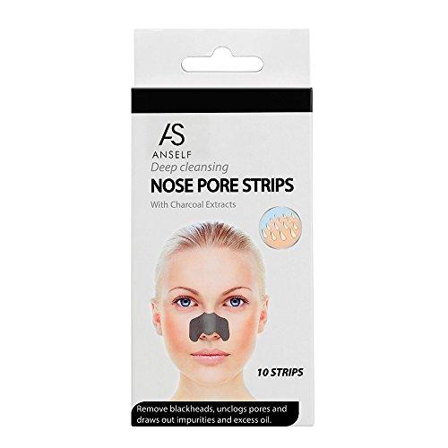 Anself 10St Porenreinigung Nasenstrips Nasenpflaster