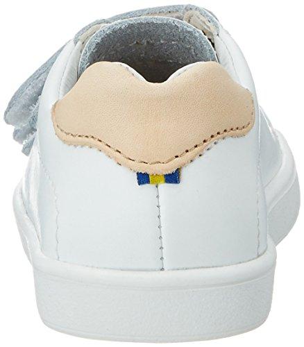Kavat Södertälje Xc, chaussons d'intérieur mixte enfant Weiß (White)