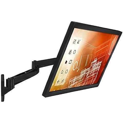 Mount-It. Braccio singolo doppio giunto articolato per Monitor a schermo