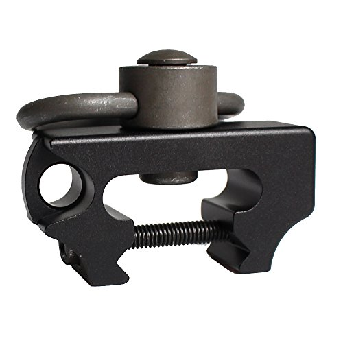 Universal Jagd Taktische Airsoft Push Button Schnell abziehen Gun Multi Sling Swivel Mount Fit Weaver Picatinny Rails (Rail Sling Swivel)