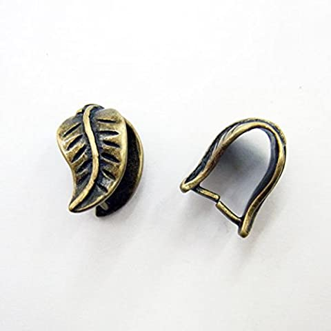thetastejewelry 8x 13mm Kupfer Antik Bail Großhandel 30PCS–3175–Ergebnisse Jewelry Enden Charm Bead