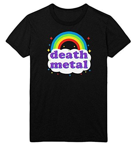 FunkyShirt Death Metal Rainbow T Shirt
