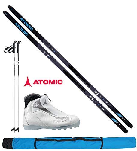 Atomic Langlaufski-Set Mover XCruise Women 173cm - Ski + Bindung + Schuhe Women + Stöcke + Skisack 18/19