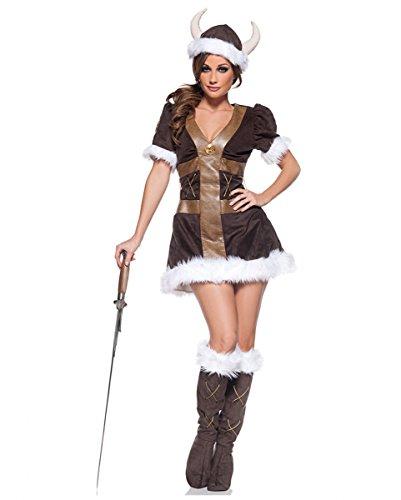 Horror-Shop Wikinger Prinzessin Kostüm -