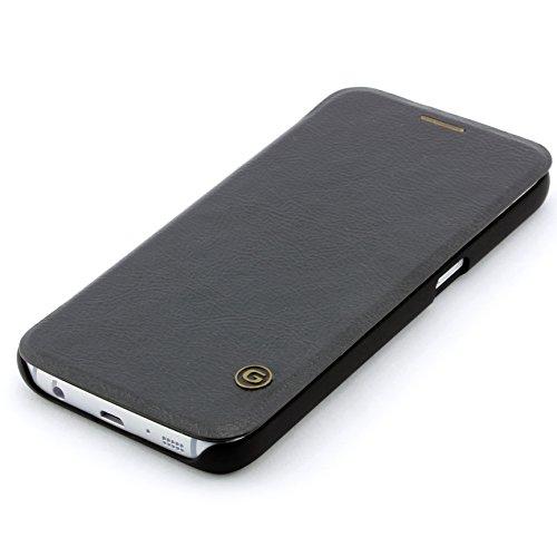 G-Case iPhone 6 Flip Hülle Wallet Ultra Slim Etui Book Cover Schutz Hülle ScorpioCover braun schwarz