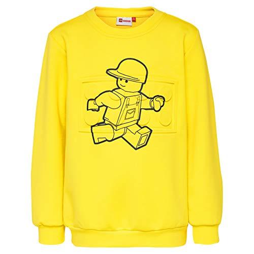 Lego Wear Jungen Lego Boy SIAM 328-SWEATSHIRT Sweatshirt, Gelb (Yellow 212), Herstellergröße: 110
