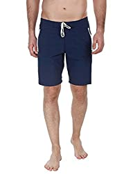 Zobello Mens Swim Shorts (41006B_Navy_Small)