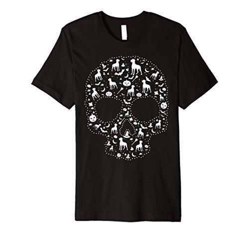 Wachhund, Sugar Skull T-Shirt CUTE Hund Deutsche -