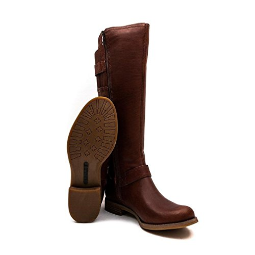 Timberland Savin Hill Tall Zip Ladies Boot Cognac